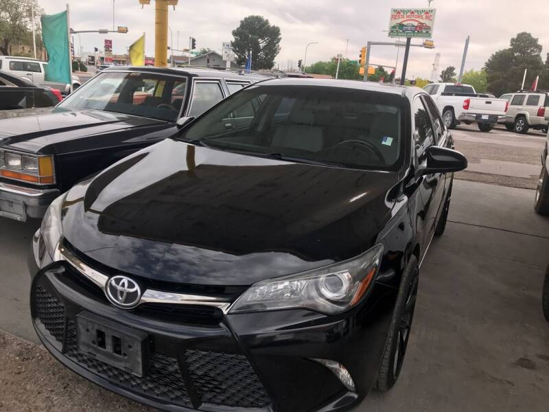 2016 Toyota Camry for sale at Fiesta Motors Inc in Las Cruces NM