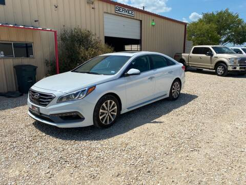 2017 Hyundai Sonata for sale at Gtownautos.com in Gainesville TX