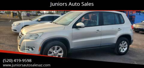 2010 Volkswagen Tiguan for sale at Juniors Auto Sales in Tucson AZ