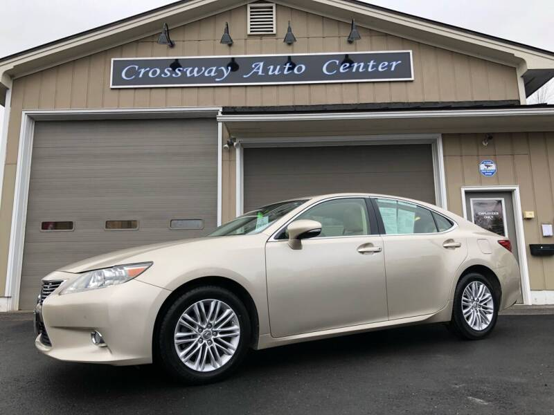 2013 Lexus ES 350 for sale at CROSSWAY AUTO CENTER in East Barre VT