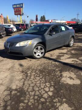 2008 Pontiac G6 for sale at Big Bills in Milwaukee WI