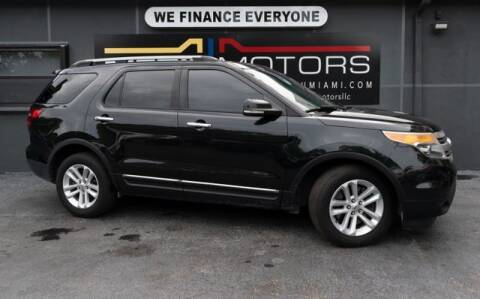 2013 Ford Explorer for sale at Meru Motors in Hollywood FL