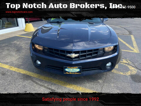 2011 Chevrolet Camaro for sale at Top Notch Auto Brokers, Inc. in Palatine IL