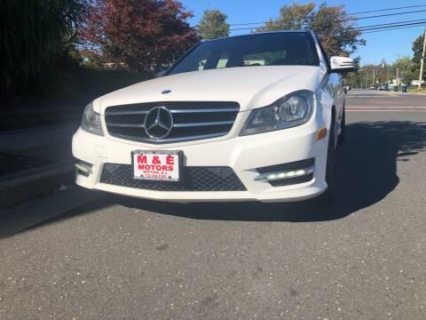 2014 Mercedes-Benz C-Class for sale at M & E Motors in Neptune NJ