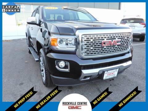 2019 GMC Canyon for sale at Rockville Centre GMC in Rockville Centre NY