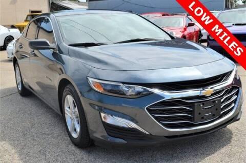 2019 Chevrolet Malibu for sale at LAKESIDE MOTORS, INC. in Sachse TX