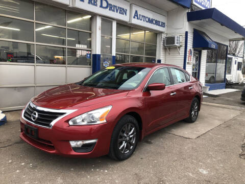 2015 Nissan Altima for sale at Jack E. Stewart's Northwest Auto Sales, Inc. in Chicago IL