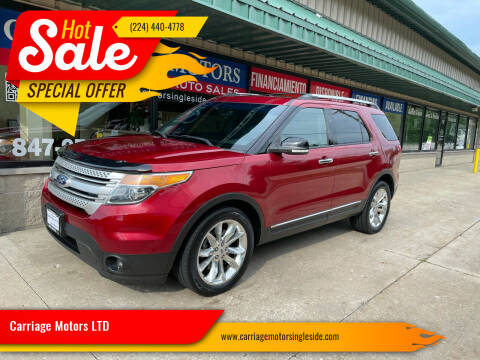 2013 Ford Explorer for sale at Carriage Motors LTD in Ingleside IL