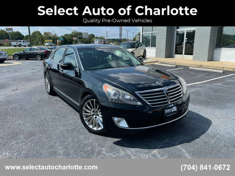 2014 Hyundai Equus for sale at Select Auto of Charlotte in Matthews NC