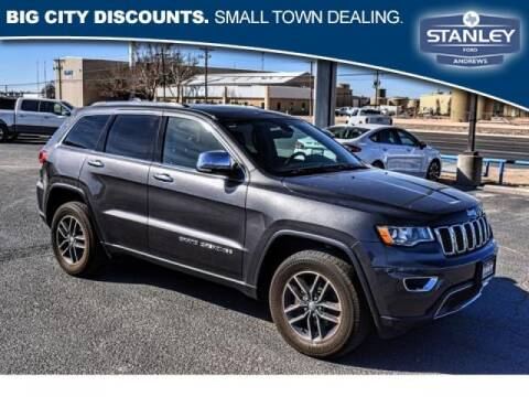 2018 Jeep Grand Cherokee for sale at STANLEY FORD ANDREWS in Andrews TX