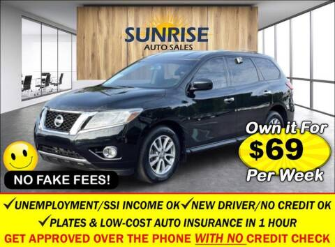 2016 Nissan Pathfinder for sale at AUTOFYND in Elmont NY