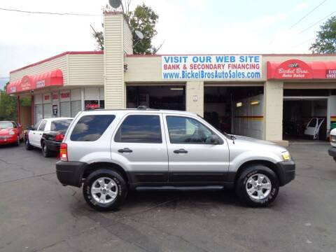 2005 Ford Escape for sale at Bickel Bros Auto Sales, Inc in Louisville KY