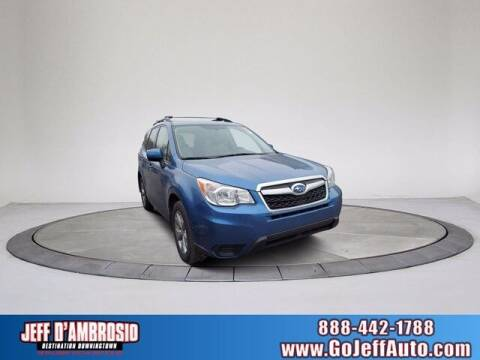 2015 Subaru Forester for sale at Jeff D'Ambrosio Auto Group in Downingtown PA