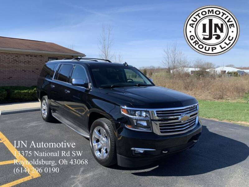 2015 Chevrolet Suburban for sale at IJN Automotive Group LLC in Reynoldsburg OH