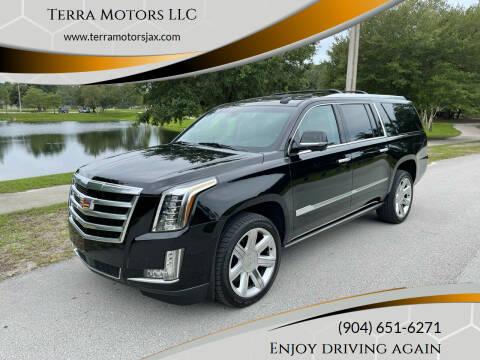 2016 Cadillac Escalade ESV for sale at Terra Motors LLC in Jacksonville FL