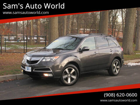 2010 Acura MDX for sale at Sam's Auto World in Roselle NJ