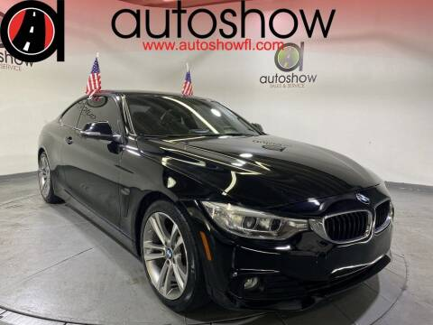2014 BMW 4 Series for sale at AUTOSHOW SALES & SERVICE in Plantation FL