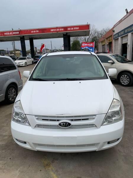 2006 Kia Sedona for sale at Houston Auto Emporium in Houston TX