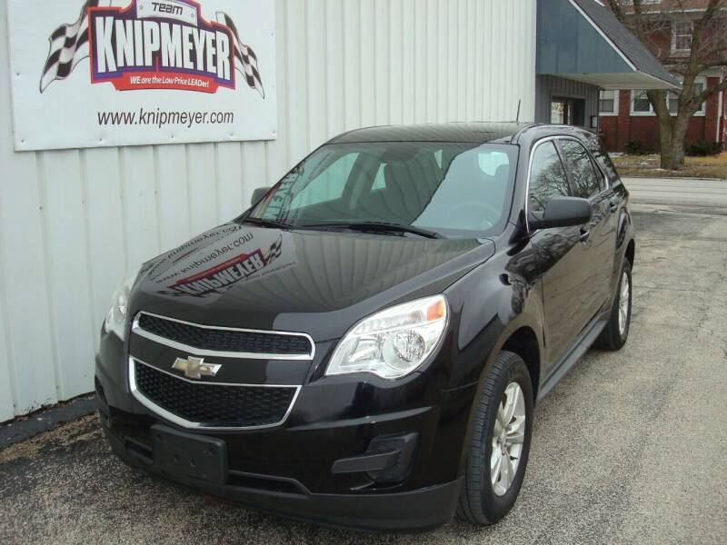 2015 Chevrolet Equinox for sale at Team Knipmeyer in Beardstown IL
