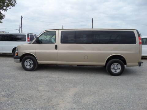2011 Chevrolet Express Passenger for sale at AUTO FLEET REMARKETING, INC. in Van Alstyne TX