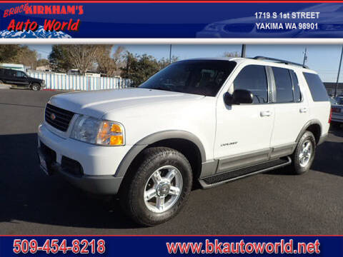 2002 Ford Explorer for sale at Bruce Kirkham Auto World in Yakima WA