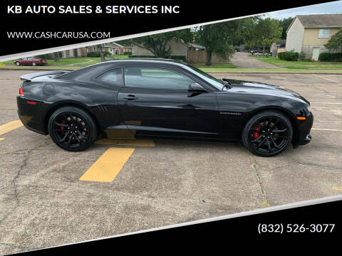 2015 Chevrolet Camaro for sale at KB AUTO SALES & SERVICES INC in Houston TX