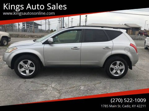 2005 Nissan Murano for sale at Kings Auto Sales in Cadiz KY
