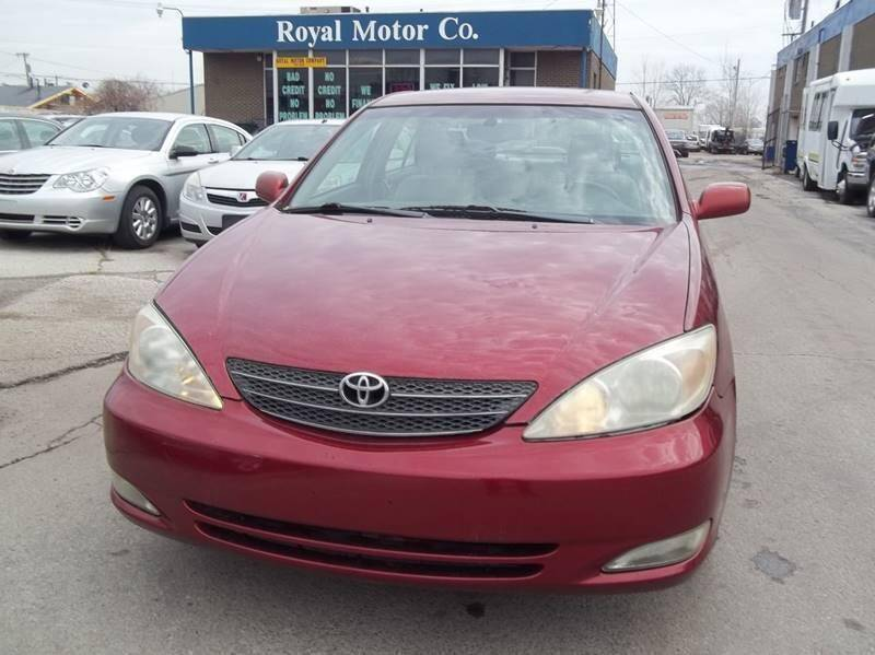 2003 Toyota Camry for sale at Royal Motors - 33 S. Byrne Rd Lot in Toledo OH