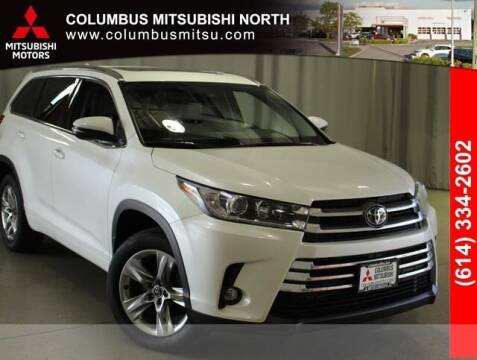 2019 Toyota Highlander for sale at Auto Center of Columbus - Columbus Mitsubishi North in Columbus OH