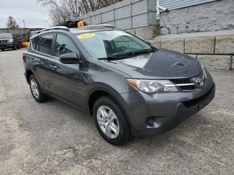 2015 Toyota RAV4 for sale at Fortier's Auto Sales & Svc in Fall River MA