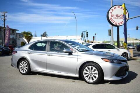 2019 Toyota Camry for sale at San Mateo Auto Sales in San Mateo CA