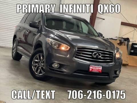 2014 Infiniti QX60 for sale at Primary Auto Group in Dawsonville GA