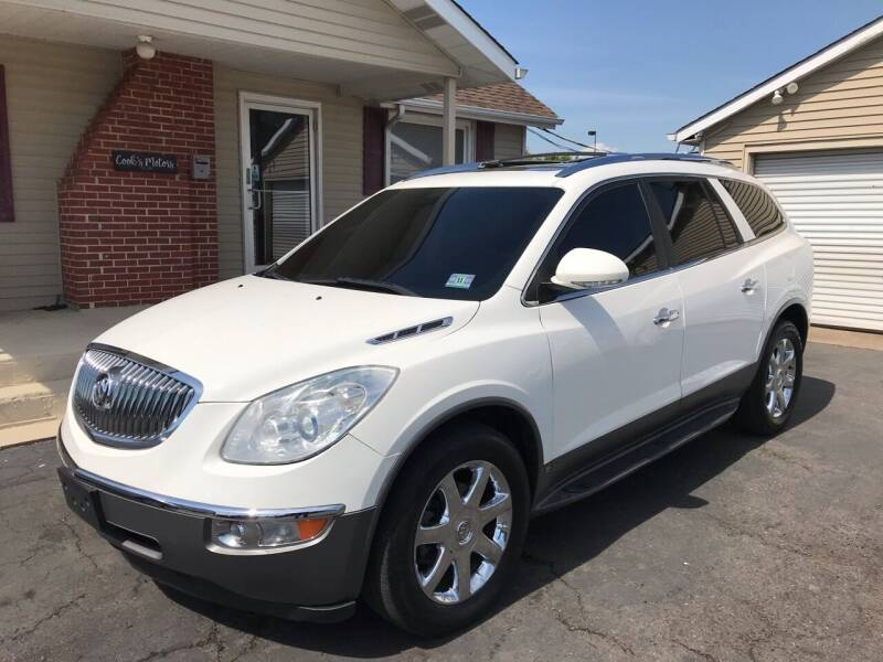 2009 Buick Enclave for sale at Cooks Motors in Westampton NJ