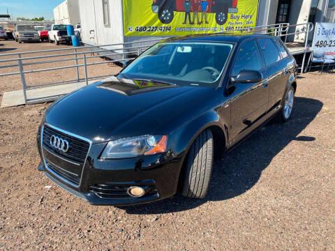 2013 Audi A3 for sale at 3 Guys Auto Sales LLC in Phoenix AZ