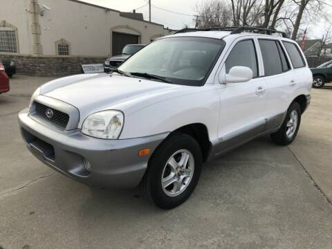 2004 Hyundai Santa Fe for sale at AAA Auto Wholesale in Parma OH