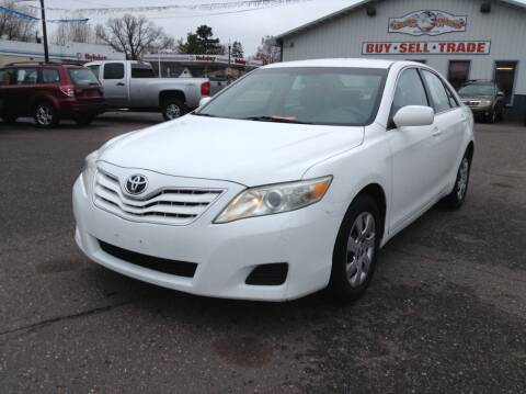 2011 Toyota Camry for sale at Steves Auto Sales in Cambridge MN