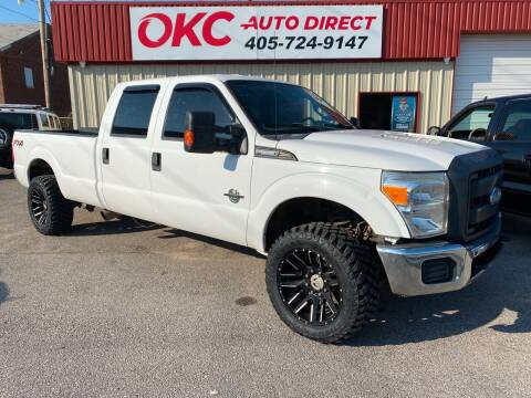 2012 Ford F-250 Super Duty for sale at OKC Auto Direct in Oklahoma City OK