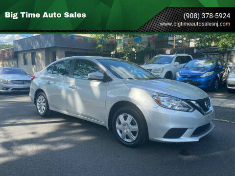 2017 Nissan Sentra for sale at Big Time Auto Sales in Vauxhall NJ