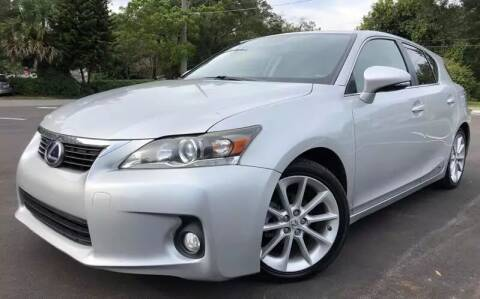 2012 Lexus CT 200h for sale at Consumer Auto Credit in Tampa FL