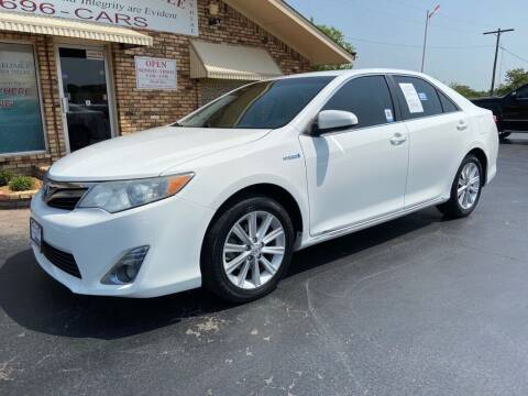 2013 Toyota Camry Hybrid for sale at Browning's Reliable Cars & Trucks in Wichita Falls TX