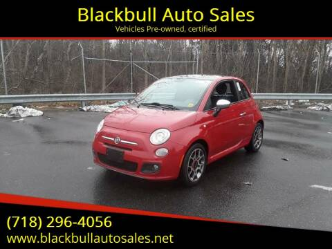 2012 FIAT 500 for sale at Blackbull Auto Sales in Ozone Park NY
