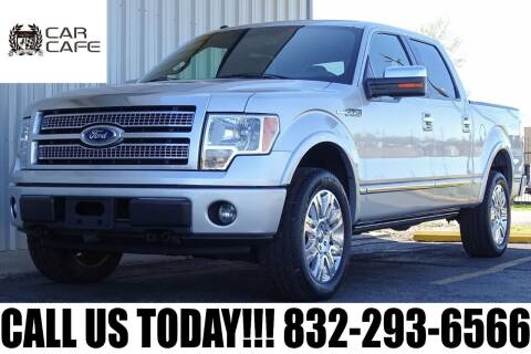 2012 Ford F-150 for sale at CAR CAFE LLC in Houston TX