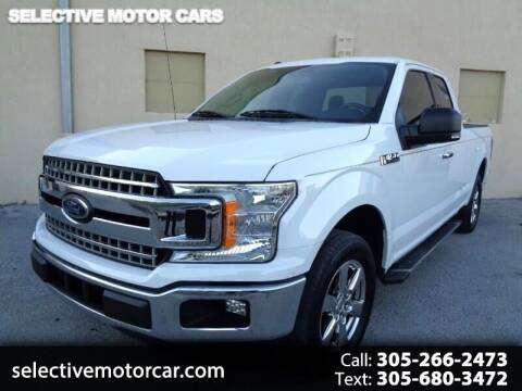 2018 Ford F-150 for sale at Selective Motor Cars in Miami FL