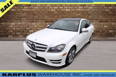 2013 Mercedes-Benz C-Class for sale at Karplus Warehouse in Pacoima CA