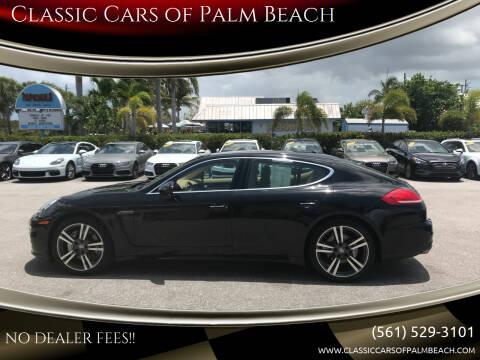 2015 Porsche Panamera for sale at Classic Cars of Palm Beach in Jupiter FL