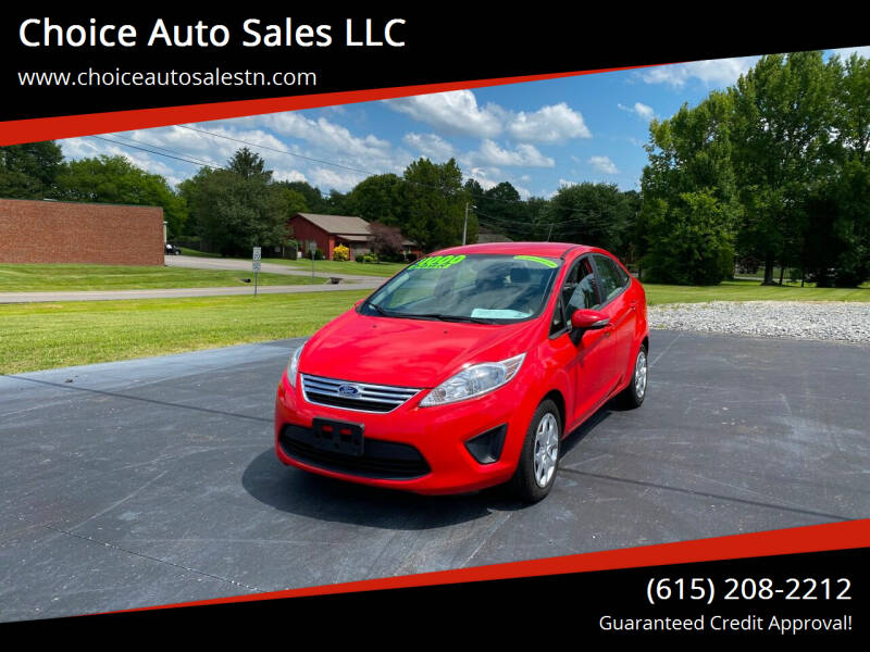 2013 Ford Fiesta for sale at Choice Auto Sales LLC - Buy Here Pay Here in White House TN