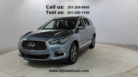 2017 Infiniti QX60 for sale at NJ State Auto Used Cars in Jersey City NJ