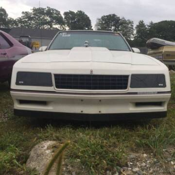 1986 Chevrolet Monte Carlo for sale at Classic Car Deals in Cadillac MI