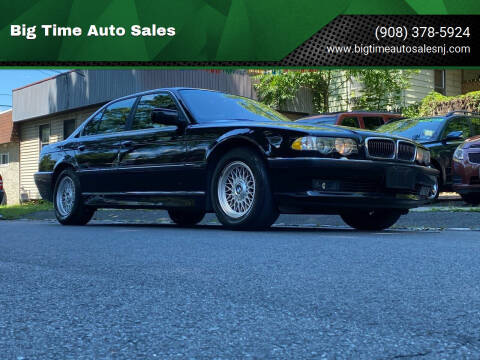 2001 BMW 7 Series for sale at Big Time Auto Sales in Vauxhall NJ
