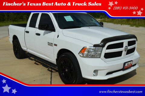 2014 RAM Ram Pickup 1500 for sale at Fincher's Texas Best Auto & Truck Sales in Tomball TX